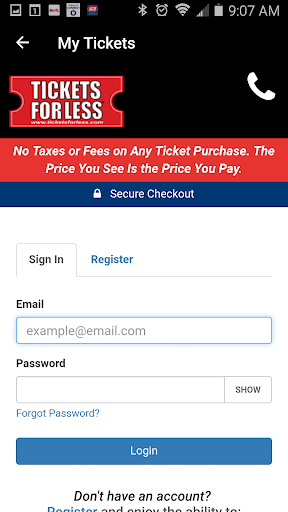 Tickets For Less - Sports, Concerts & Theatre For PC Windows (7, 8, 10, 10X) & Mac Computer Image Number- 8