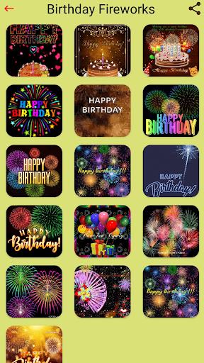 Happy Birthday GIFs & Love Roses Sticker  screenshots 2