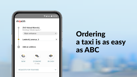 maxim — order taxi, food and groceries delivery 2