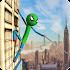 Stickman Rope Hero - Amazing Spider Crime City