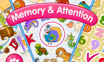 Memory & Attention Training for Kids