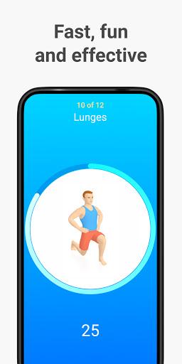 Seven - 7 Minute Workout modiapk screenshots 1