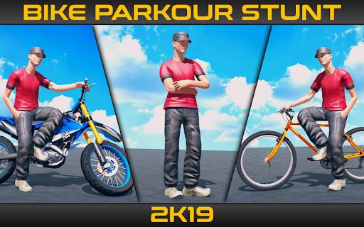 Bike Parkour Stunts 2019  screenshots 1