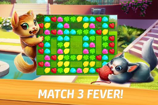 Meow Match: Cats Matching 3 Puzzle & Ball Blast Apkfinish screenshots 4