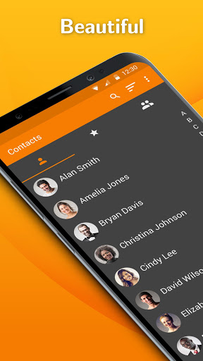Simple Contacts: Address Book with Contact Backup  screenshots 1