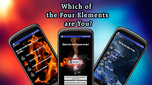 which of four elements are you screenshot 3