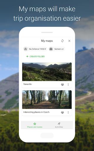 Mapy.cz - Cycling & Hiking offline maps 7.6.1 Screenshots 5