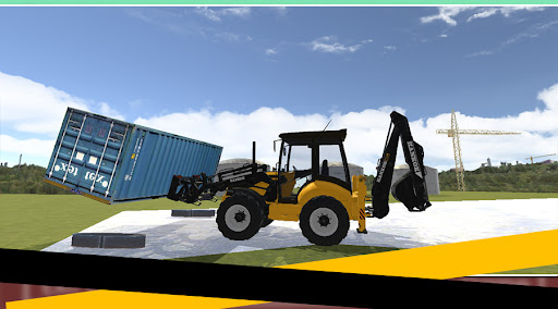 Dozer Crane Simulation Game 2 screenshots 8