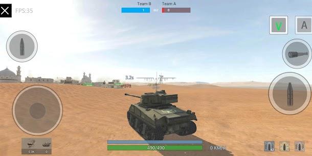 Panzer War Mod Apk 2020.11.06.1 (Free Shopping) 4