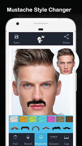 Men Hair Style - Photo Editor - Men Hair Editor  Screenshots 3