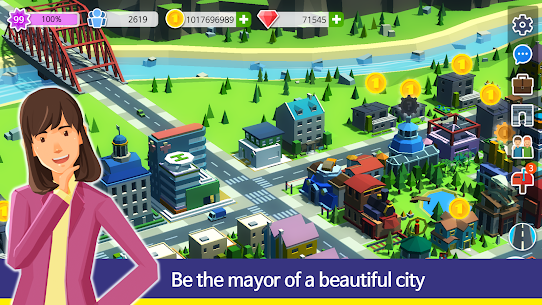 People and The City Mod Apk 1.0.706 (Free Stuff) 2