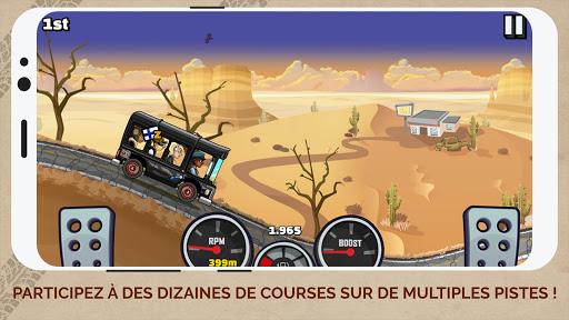 Code Triche Hill Climb Racing 2 (Astuce) APK MOD screenshots 3