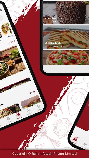 Flutter Food Delivery UI Kit screenshot 1