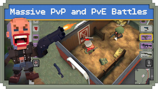 Télécharger gratuit Guns Royale - Multiplayer Blocky Battle Royale APK MOD 2