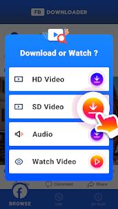 Video Downloader for Facebook – HD Video Saver Apk Download 2021 5