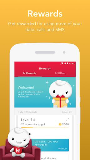 Singtel Prepaid hi!App android2mod screenshots 5