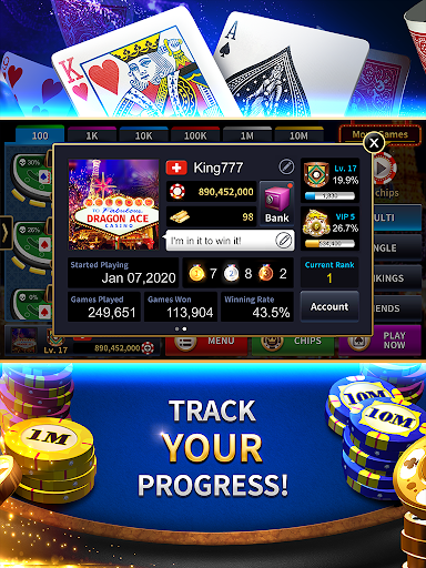 Dragon Ace Casino - Blackjack screenshots 19