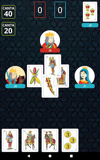Cuatrola Spanish Solitaire - Cards Game  screenshots 10