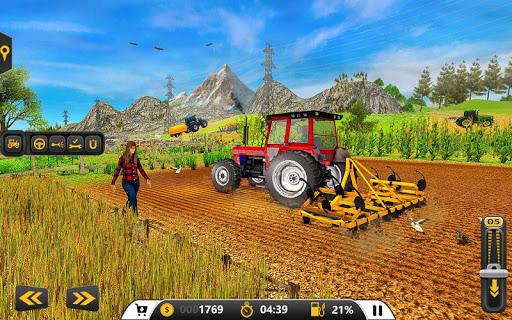 Drive Farming Tractor Cargo Simulator ud83dude9c 2021  screenshots 4