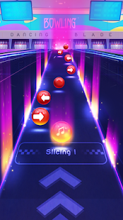 Dancing Blade: Slicing EDM Rhythm Game 1.2.5 Screenshots 3