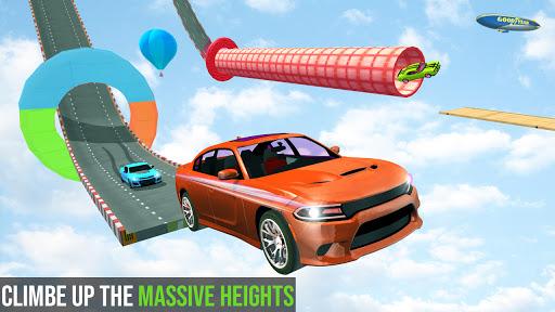 Mega Ramp Car Racing Stunts 3d Stunt Driving Games android2mod screenshots 3