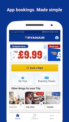 Ryanair - Cheapest Fares apktram screenshots 1
