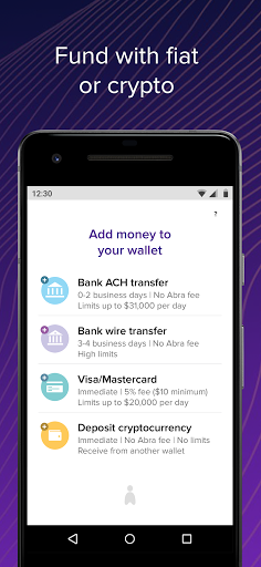 Abra Bitcoin Crypto Wallet Buy Trade Earn Interest 92.0 Screenshots 3