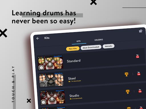 CLASSIC DRUM: Electronic drum set 7.5.6 Screenshots 9
