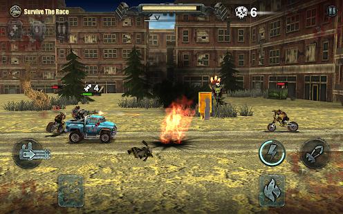 Dead Paradise: Car Shooter & Action Game 1.7 Screenshots 10