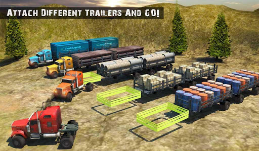 USA Truck Driving School: Off-road Transport Games  screenshots 10