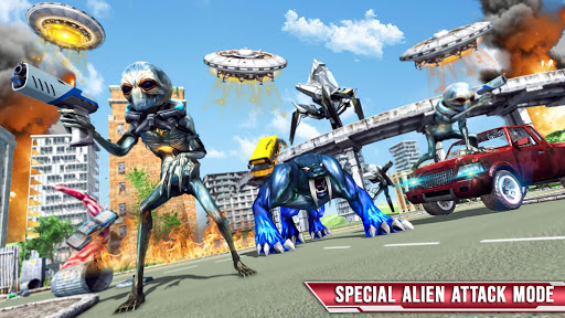 Royal Lion Robot Games- Dragon Robot Transform War  screenshots 17