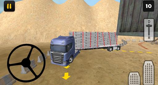 construction truck 3d: prefab transport screenshot 2