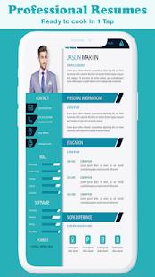 New CV Maker App: CV Builder New Resume Format