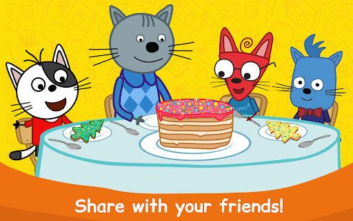 Kid-E-Cats: Cooking for Kids with Three Kittens!  screenshots 20