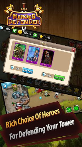 Defender Heroes: Castle Defense - Epic TD Game 4.2 screenshots 2