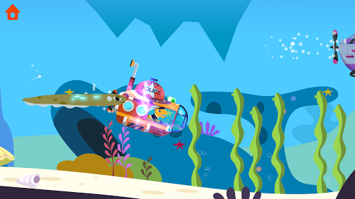 Dinosaur Police Car - Police Chase Games for Kids 1.1.3 screenshots 14