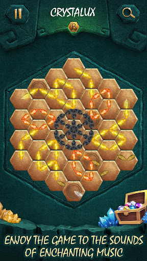 Crystalux. New Discovery - logic puzzle game  screenshots 2