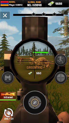 Wild Hunter: Dinosaur Hunting apkslow screenshots 1