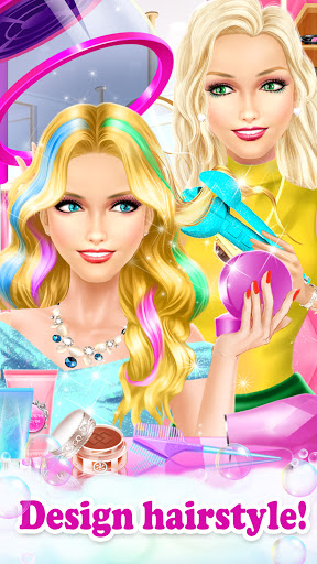 Princess HAIR Salon Makeup Dress up Girl Games 1.1 screenshots 2