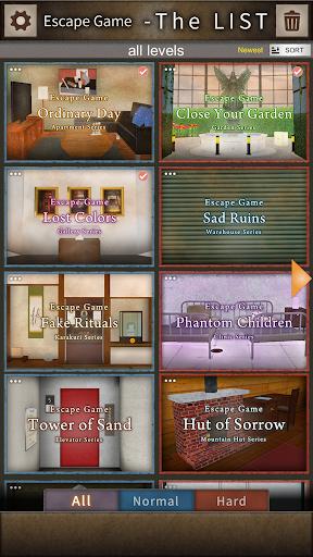 Escape Game - The LIST 1.2.0 screenshots 1