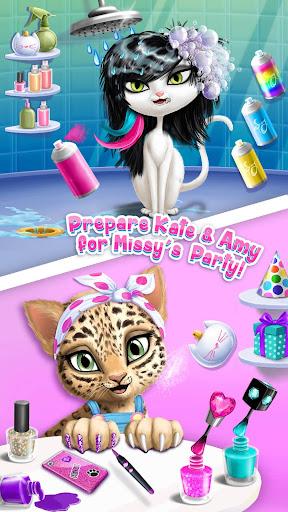 Cat Hair Salon Birthday Party - Virtual Kitty Care 8.0.80006 screenshots 2