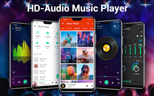 Music Player - MP3 Player  screenshots 1