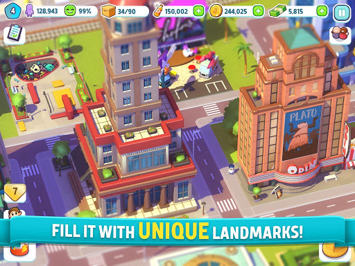 City Mania: Town Building Game apktram screenshots 8