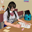 School Girl Life Simulator icon