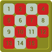 15 Puzzle Game (by Dalmax)