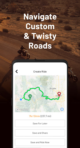 REVER - Motorcycle GPS, Route Planner & Discover screenshots 4