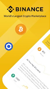 Binance: Bitcoin Marketplace & Crypto Wallet 1
