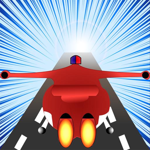 Plane Wings - Super Racing Hero Robot New