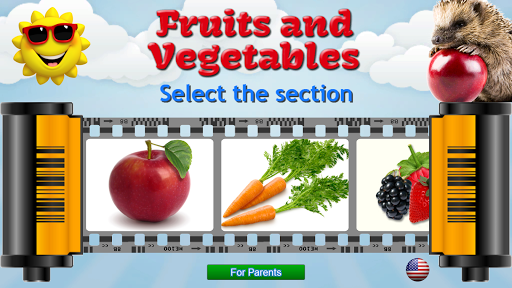 Fruits and Vegetables for Kids 8.3 Screenshots 1