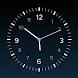 伝統的なクラシック時計、秒針付き